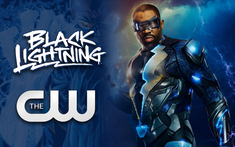 Poster for Black Lightning on The CW
