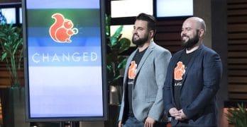 ChangEd app founders Daniel Stelmach and Nick Skrzyniarz on Shark Tank