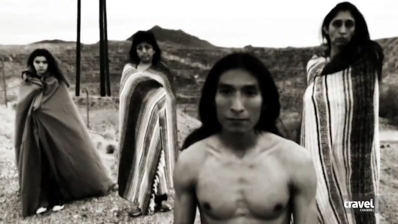 Native Americans at New Cornelia mine