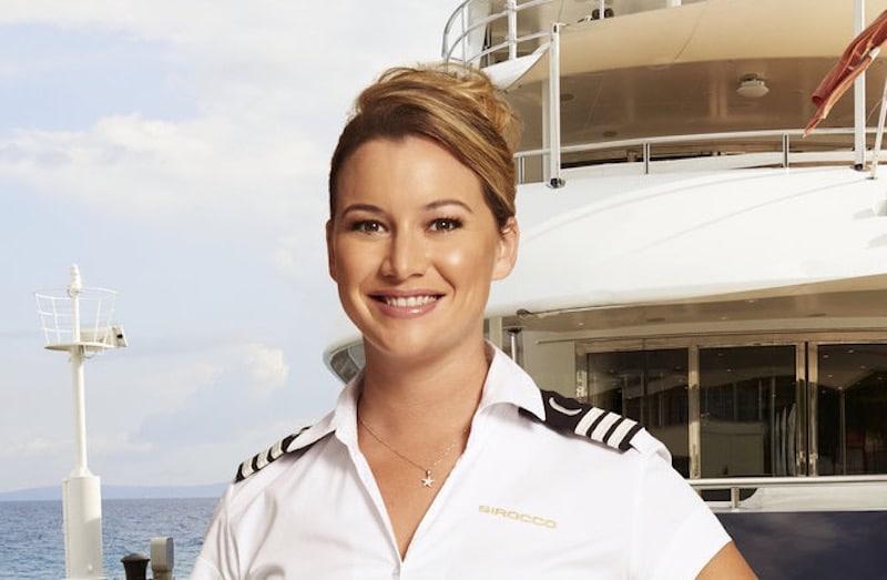 Hannah Ferrier on Below Deck Mediterranean