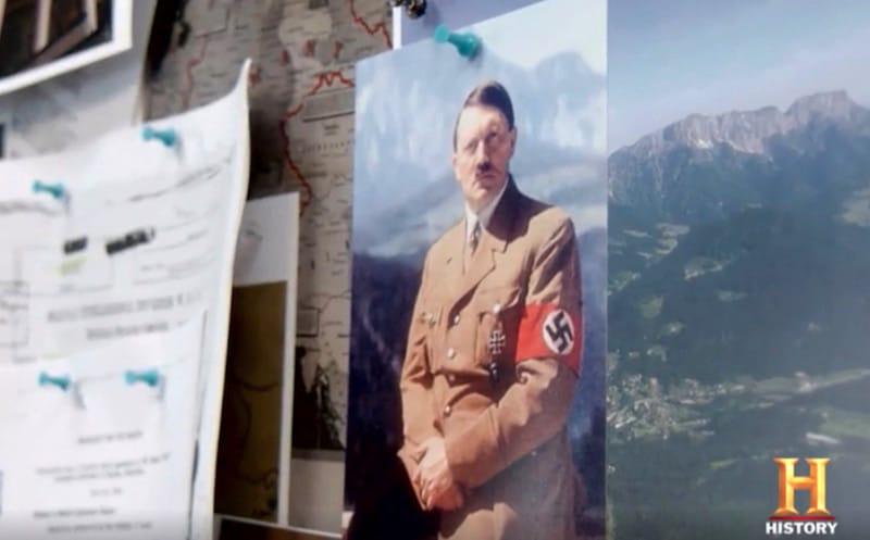 Photo of Adolf Hitler on Hunting Hitler Season 3