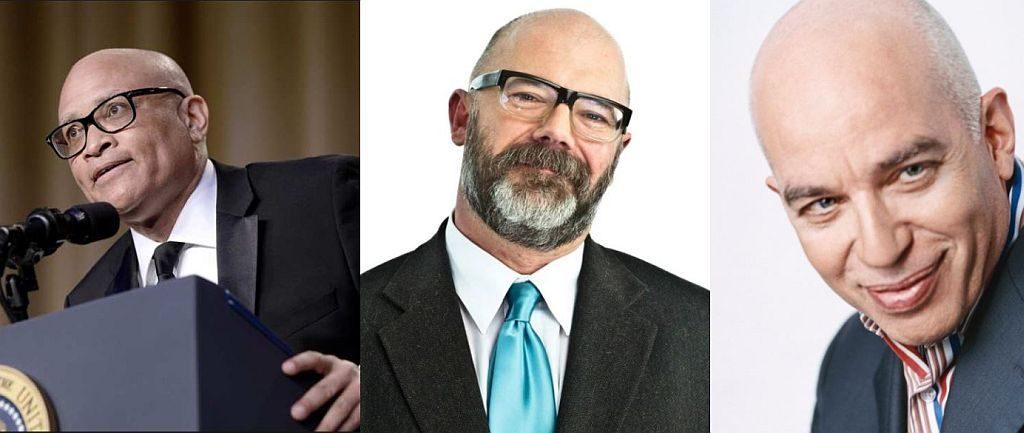 Larry Wilmore, Andrew Sullivan, Michael Wolff