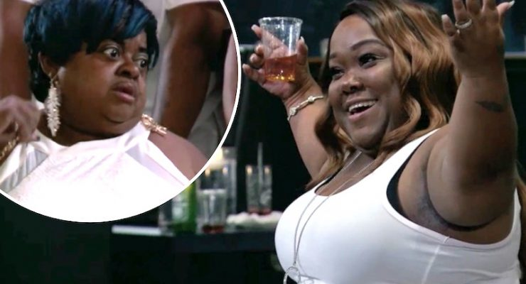 Little Women: Atlanta's Ms. Juicy brands co-star Minnie a 'heifer' as they clash over rival careers