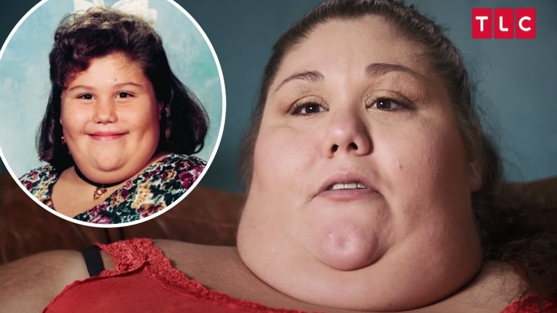 Alicia on My 600-lb Life and as a child