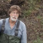 Rick Lagina in swamp on The Curse of Oak Island