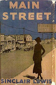Sinclair Lewis wrote the novel Main Street, which is set in a fictionalised version of the town. This is cover to the novel.