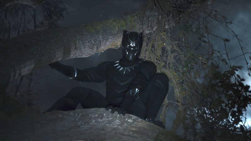 Chadwick Boseman as Black Panther