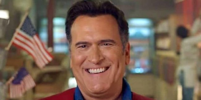 Bruce Campbell on Ash vs Evil Dead Season 3