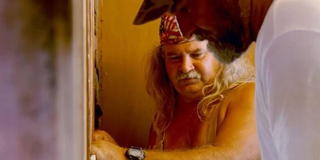 """Bruce Mitchell, Harlan """"Bigfoot"""" Hatcher"""