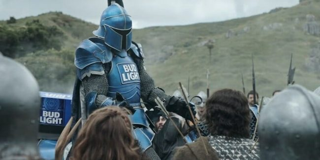 The Bud Knight in