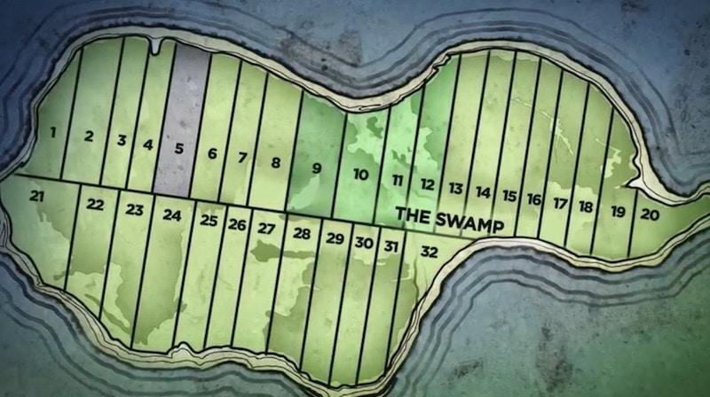Map of Oak Island lots