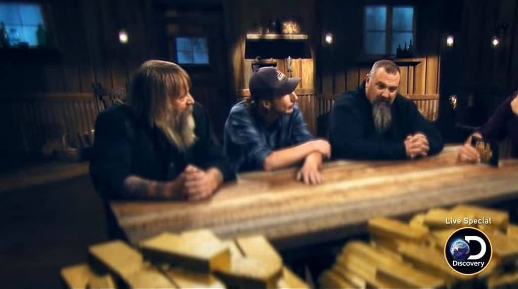 Tony Beets, Parker Schnabel and Todd Hoffman on Gold Rush Live