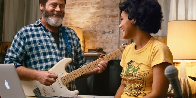 Sundance review: Singing the praises of Nick Offerman and Kiersey Clemons in Hearts Beat Loud