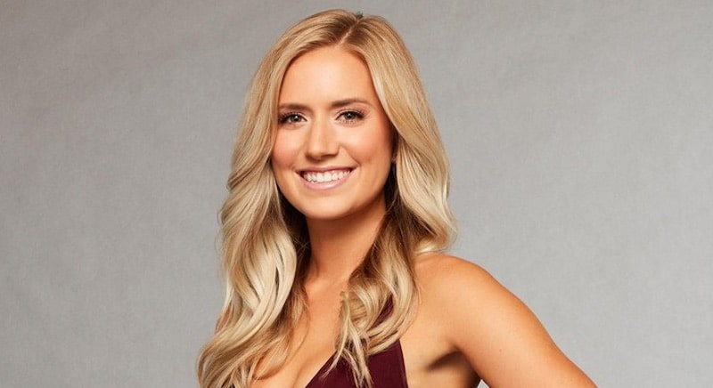 Lauren B in a promotional pic for The Bachelor