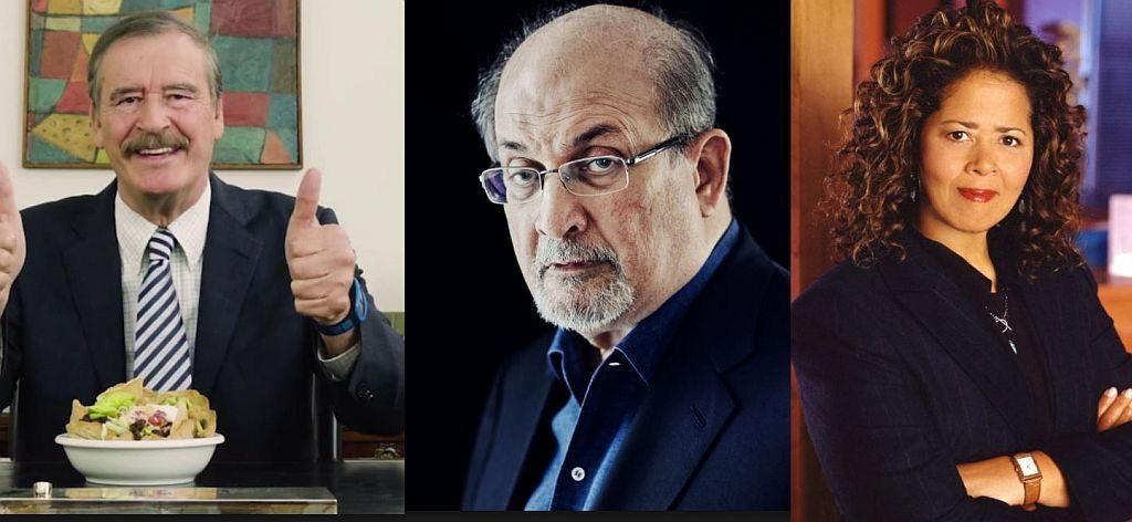 Vicente Fox, Salman Rushdie, Anna Deavere Smith