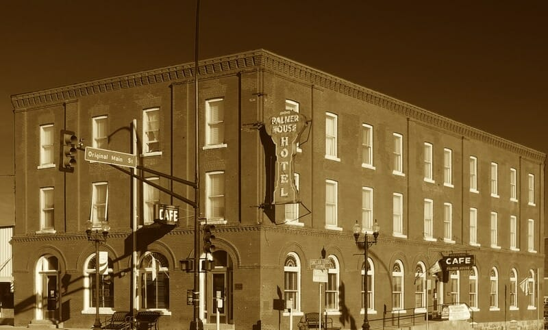 The Palmer House hotel