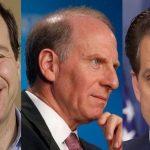 David Frum, Richard Haass and Anthony Scaramucci