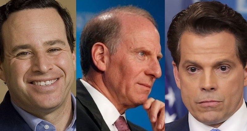 David Frum, Richard Haass and Anthony Scaramucci