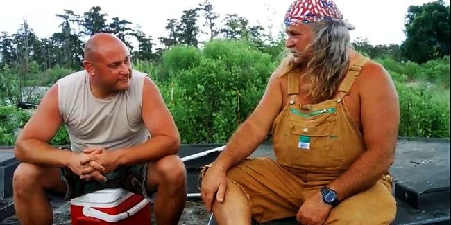Still from Swamp People