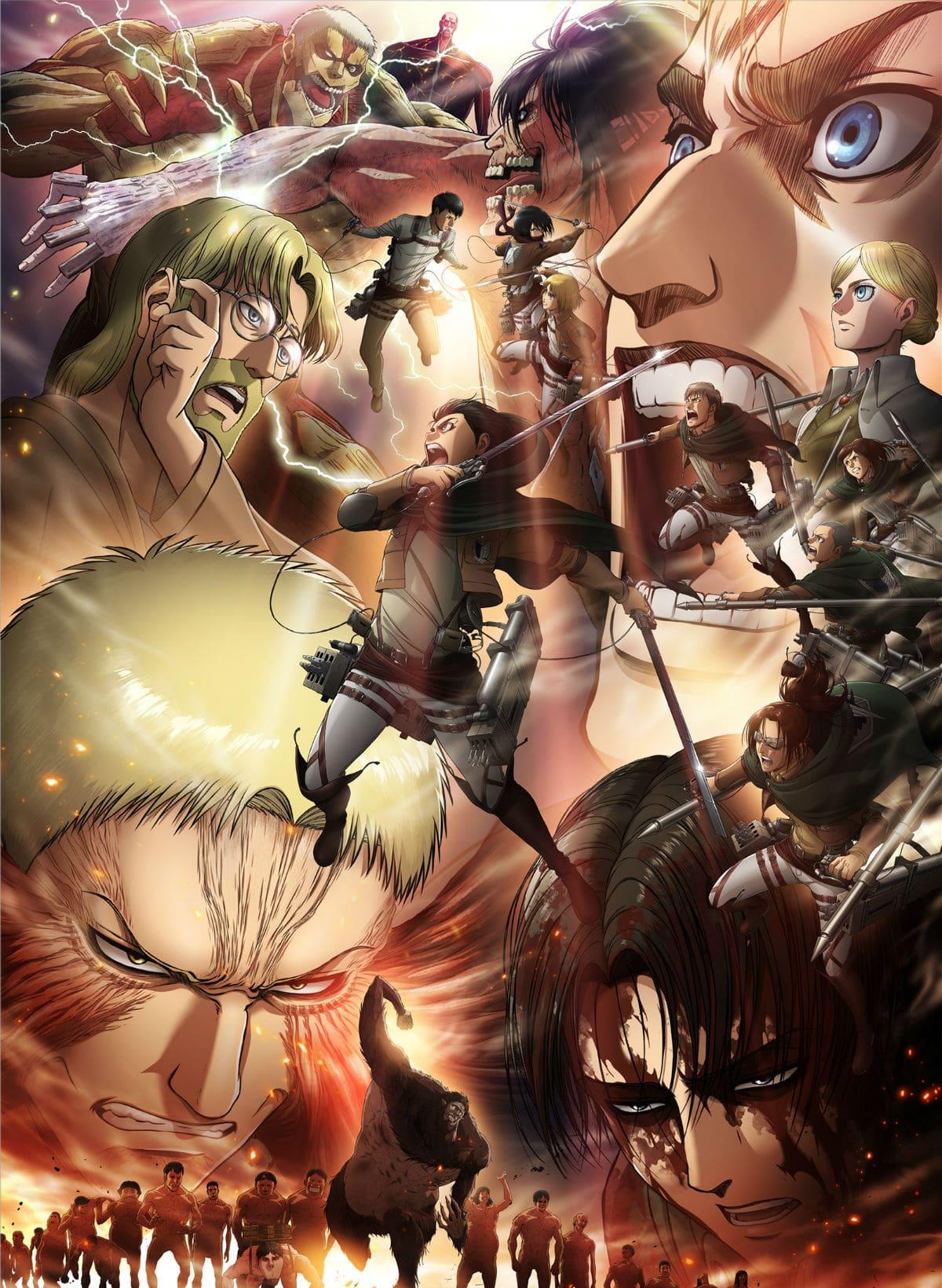 Attack On Titan Season 3 Part 2 Key Visual