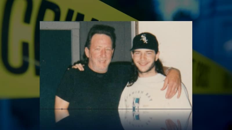 Jeffrey Wolfe and his father