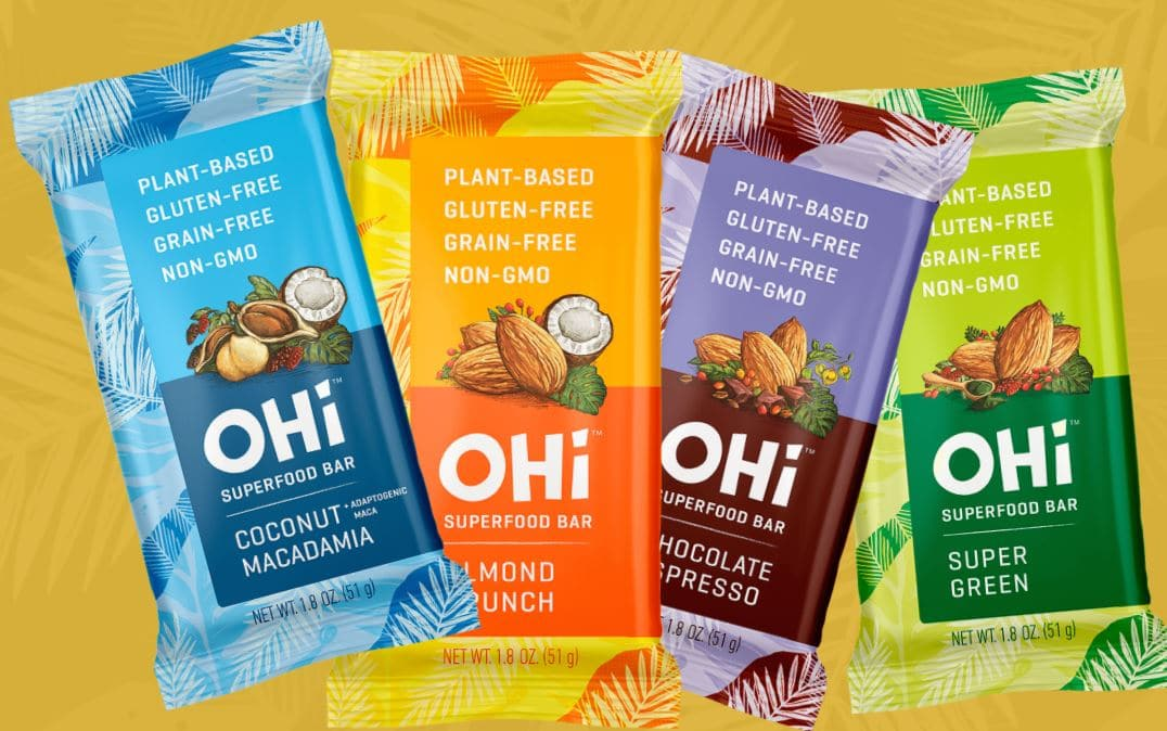 OHi bars 1024x641 - Natural Products Expo West 2018: Exhibitors to put on your visit list