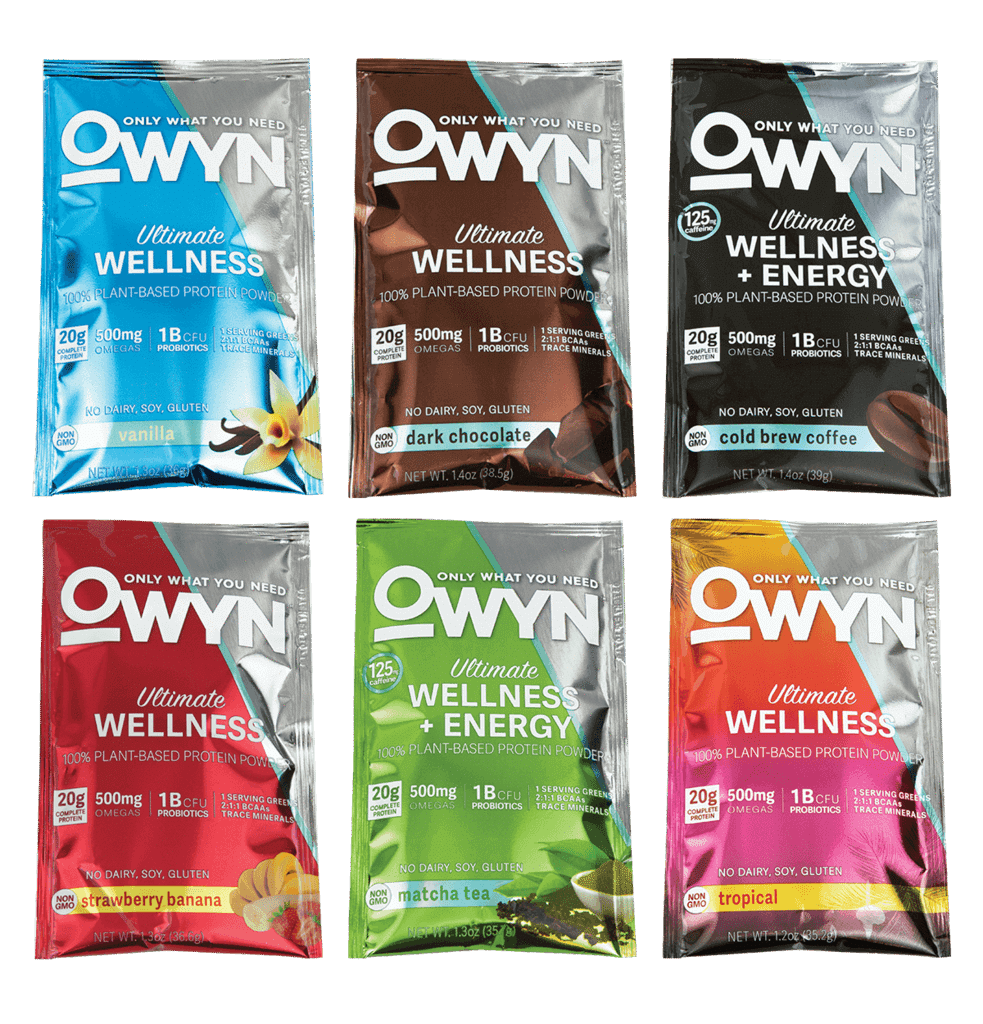 OWYN Plant Protein Powder Sample 983x1024 - Natural Products Expo West 2018: Exhibitors to put on your visit list