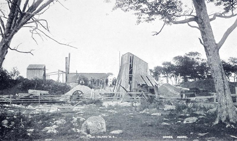 Operations on Oak Island in 1897