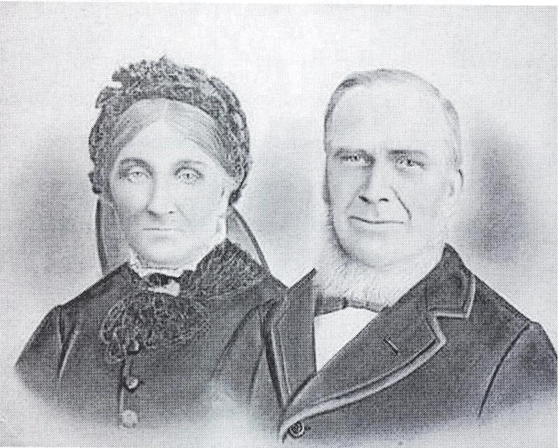 Robert Creelman and Susanna Archibald circa 1903