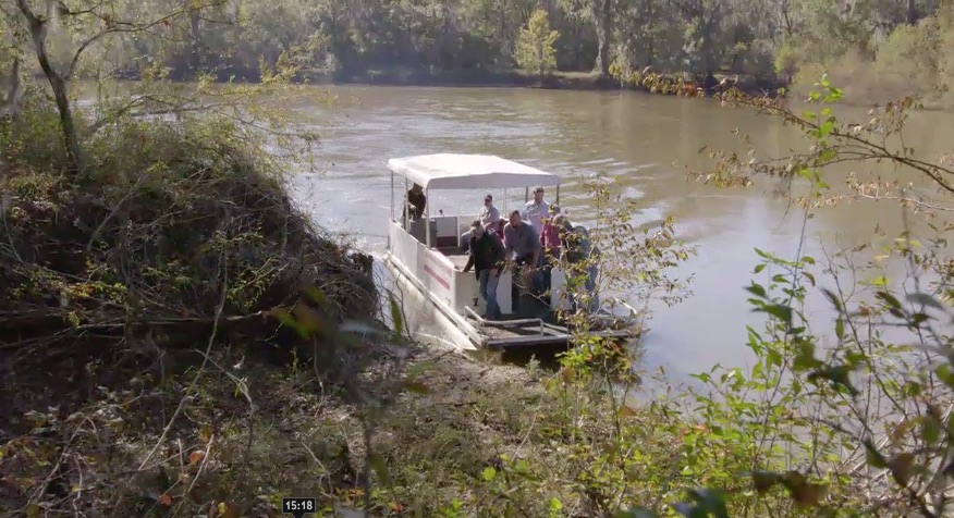 Team on Ocmulgee river