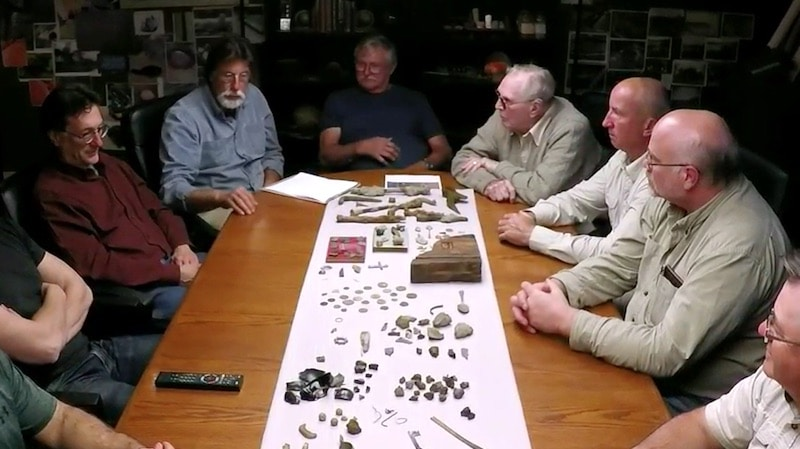 Team and their discoveries in the War Room