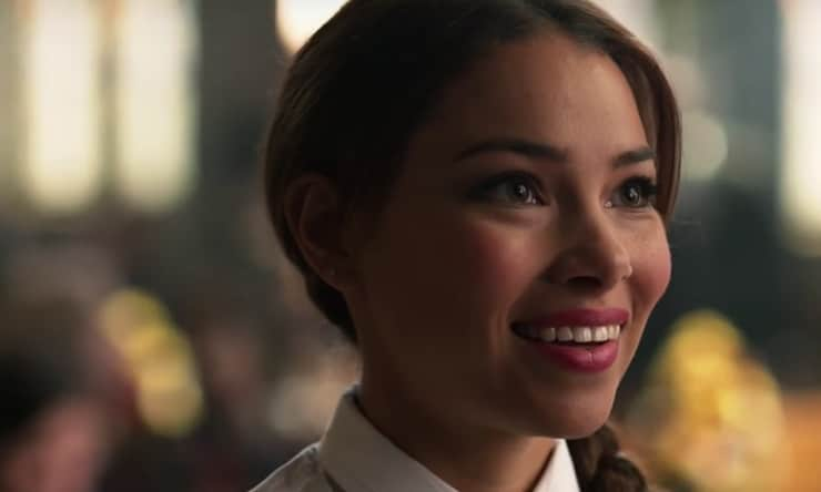 Jessica Parker Kennedy on The Flash