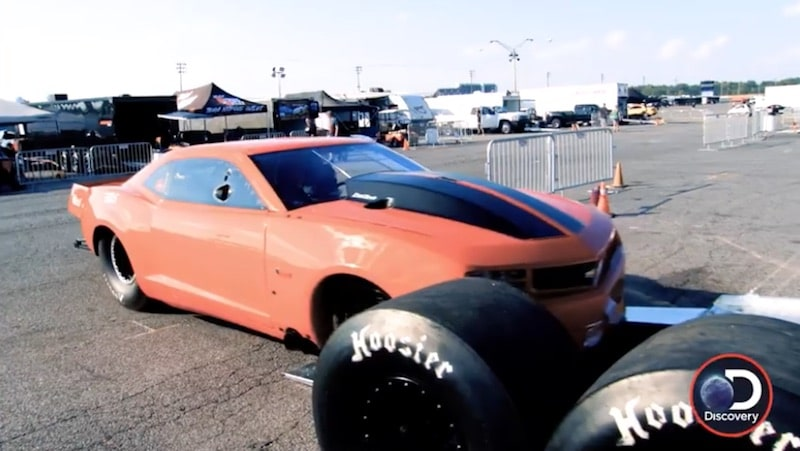 Ryan Martin's Fireball Camaro on Street Outlaws: No Prep Kings