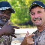 Gee and Frenchy on Swamp People