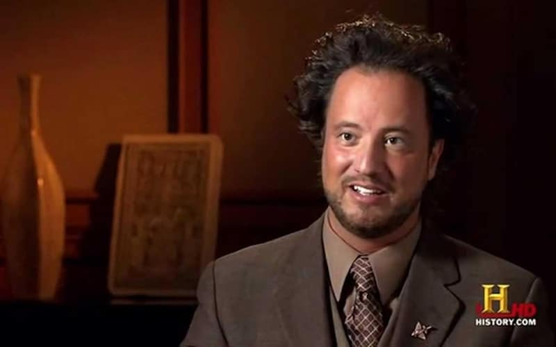 Giorgio A. Tsoukalos on Ancient Aliens