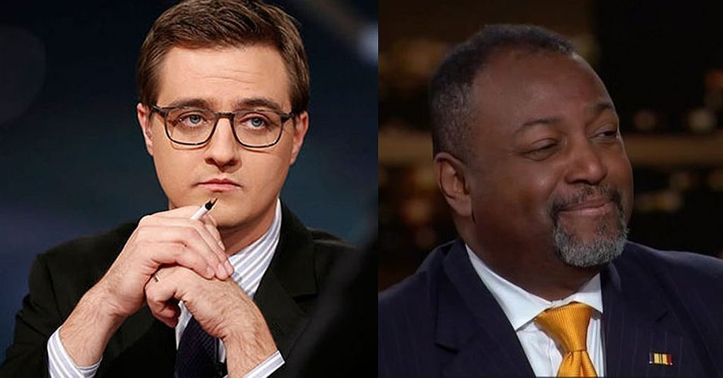 Chris Hayes and Malcolm Nance