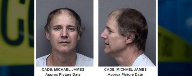 Michael Cade Mugshot