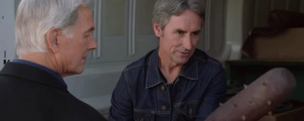 Mike Wolfe talks to Gibbs on NICS 'One Man's Trash'