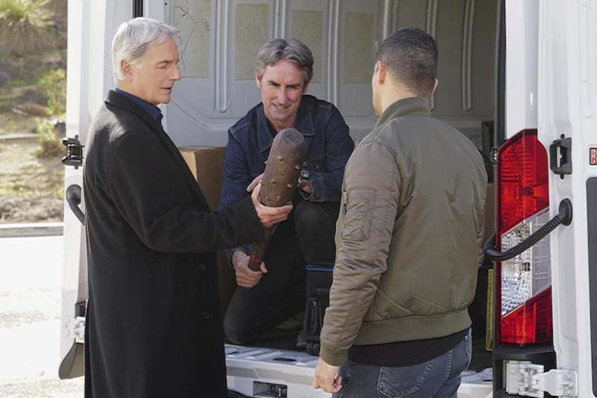 Mike Wolfe On Ncis American Pickers Legend Guest Stars On One