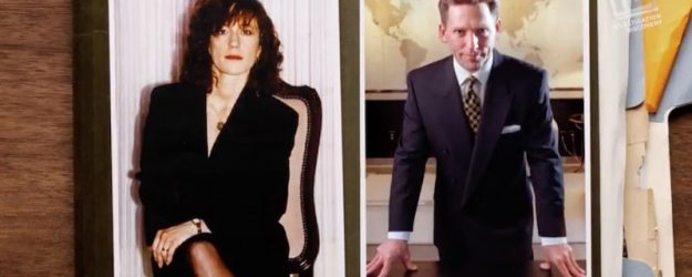 Shelly and David Miscavige photographs on Vanity Fair Confidential