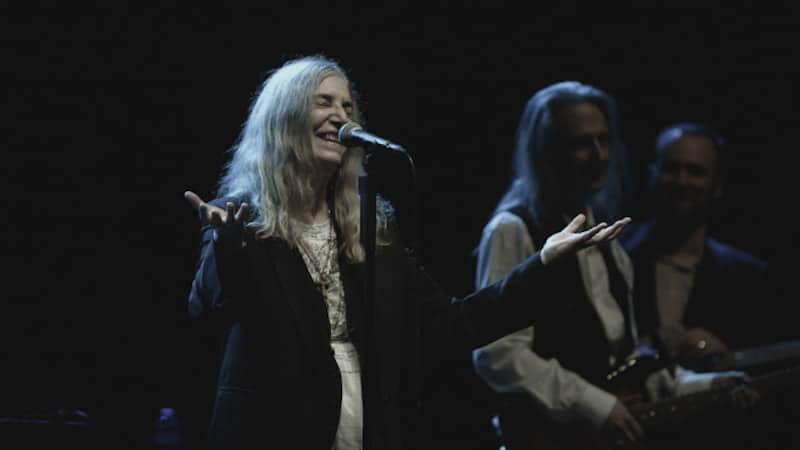 A still from Horses: Patti Smith and Her Band