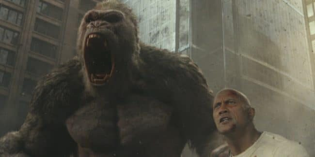 Rampage movie review: Go-jeer-a