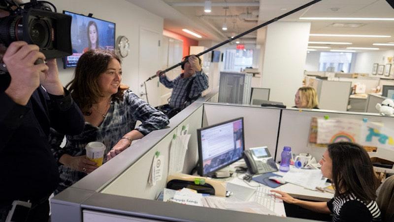 Liz Garbus talks with White House correspondent Julie Hirschfeld Davis on The Fourth Estate