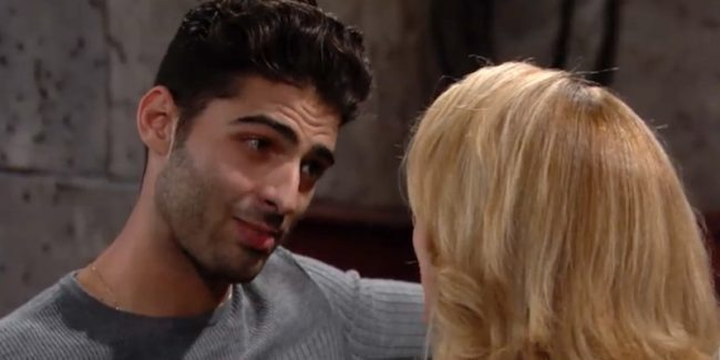 Arturo talking to Nikki on The Young and the Restless