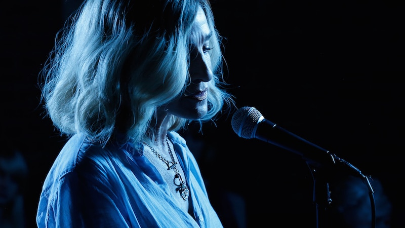 Sarah Jessica Parker in Blue Night