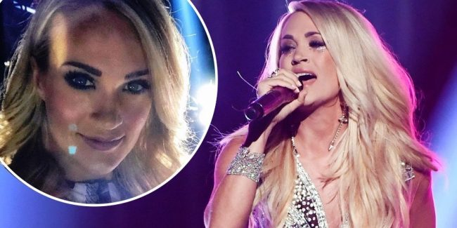 Carrie Underwood's 'new' face is just as gorgeous as before