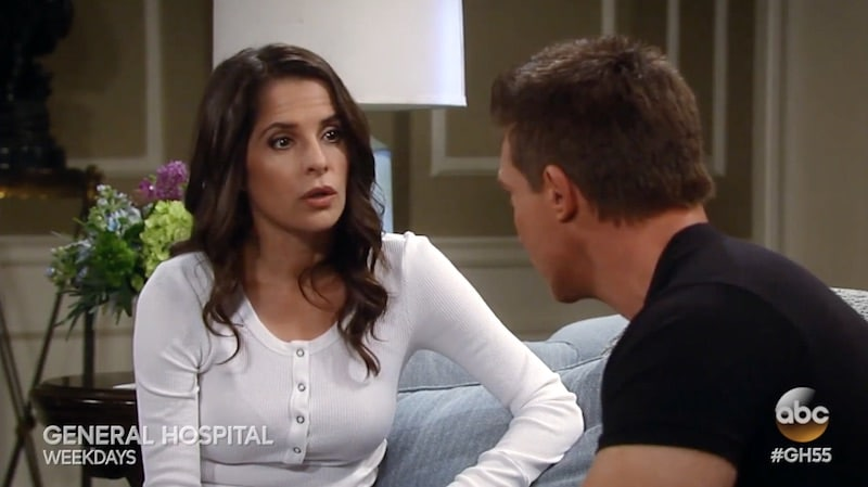 Sam and Jason on General Hospital