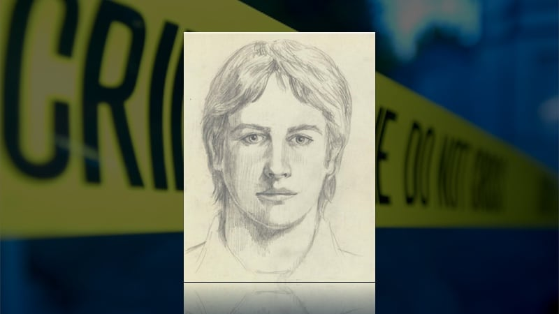 Sketch of The Golden State Killer