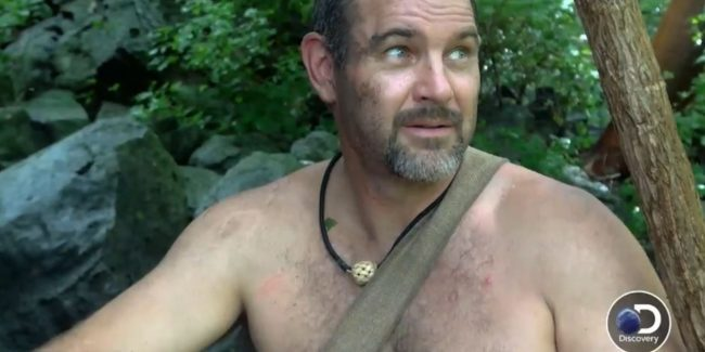 Exclusive: Survivalist caught by flash flood on Naked and Afraid