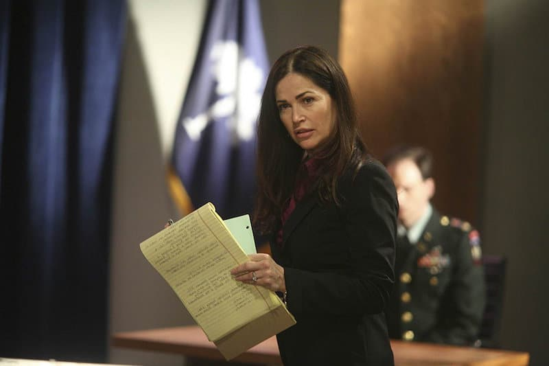 Kim Delaney on Army Wives
